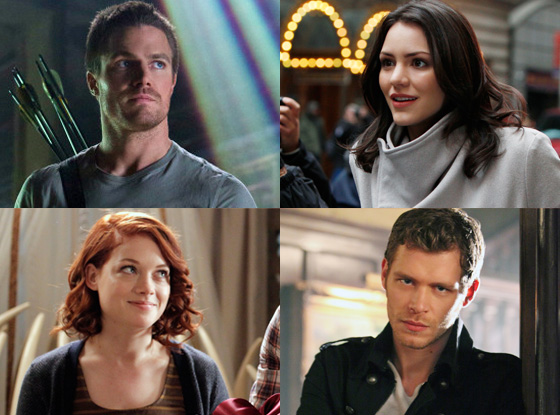 Katherine McPhee, Smash, Joseph Morgan, Vampire Diaries, Jane Levy, Suburgatory, Stephen Amell, Arrow