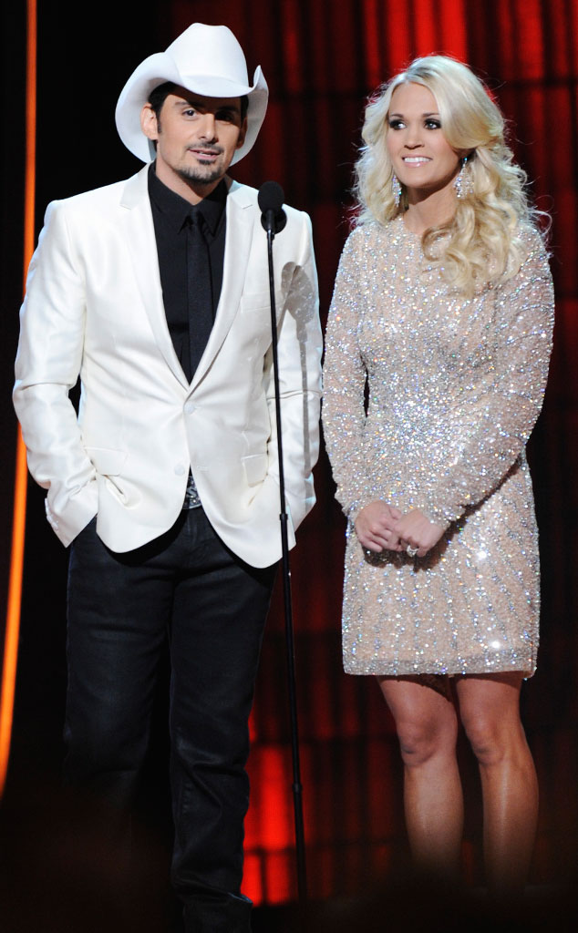 Carrie Underwood, Brad Paisley