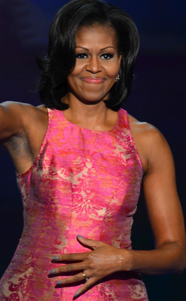 Michelle Obama, manicure