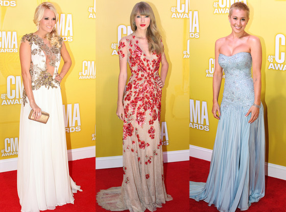 Carrie Underwood, Taylor Swift, Kellie Pickler