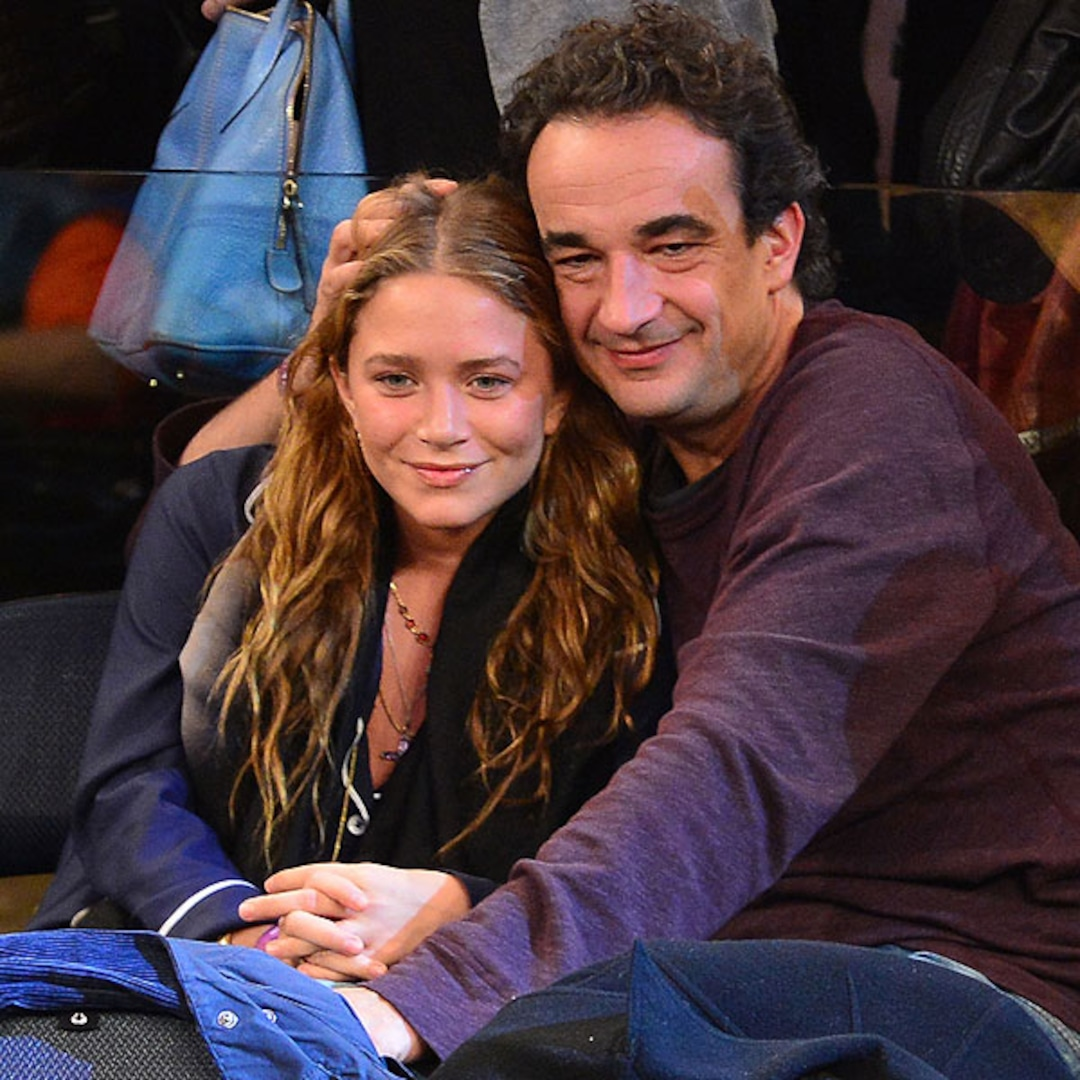 Mary-Kate Olsen and BF Get Cozy at Knicks Game - E! Online