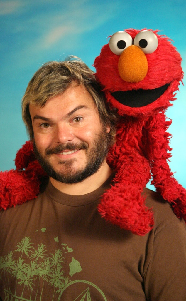 Jack Black, Celebs on Sesame Street