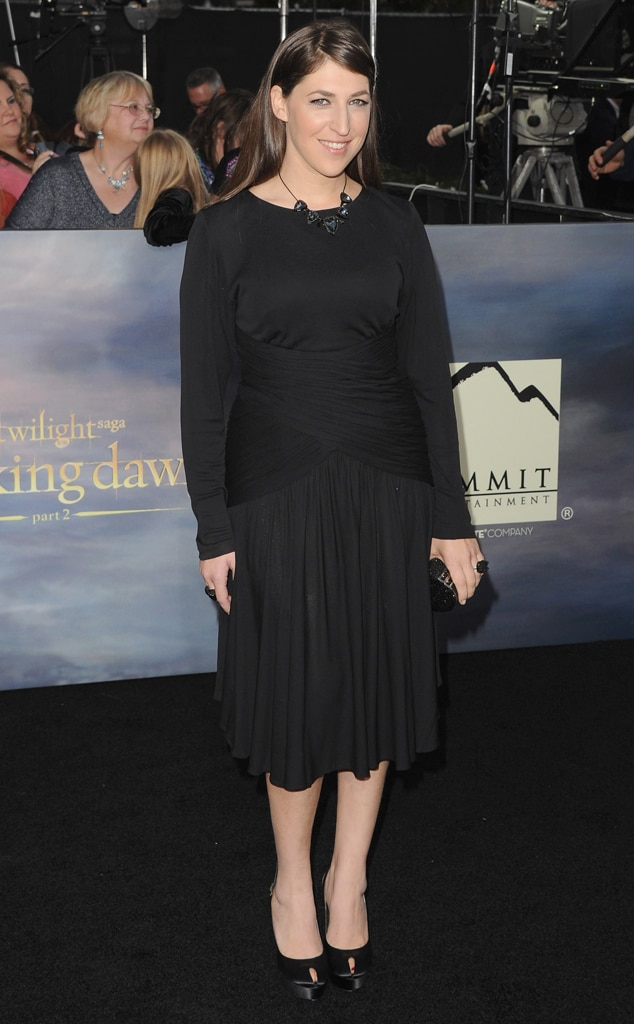 Mayim Bialik, Breaking Dawn Part 2 Premiere