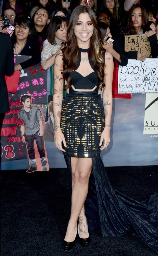 Christina Perri, Breaking Dawn Part 2 Premiere