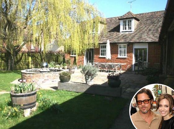 Angelina Jolie, Brad Pitt, Kent Cottage