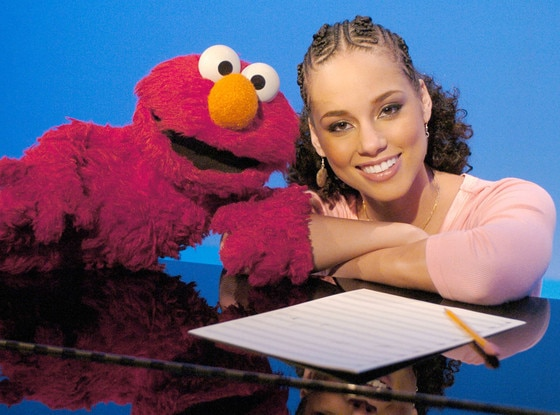 Alicia Keys, Celebs on Sesame Street