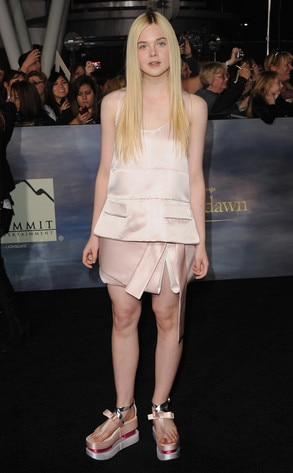 Elle Fanning, Breaking Dawn Part 2 Premiere