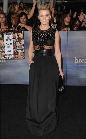Julianne Hough, Breaking Dawn Part 2 Premiere
