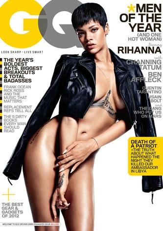 rihanna Gq magazine