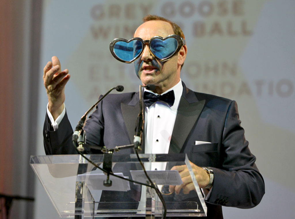 Kevin Spacey, Grey Goose Winter Ball