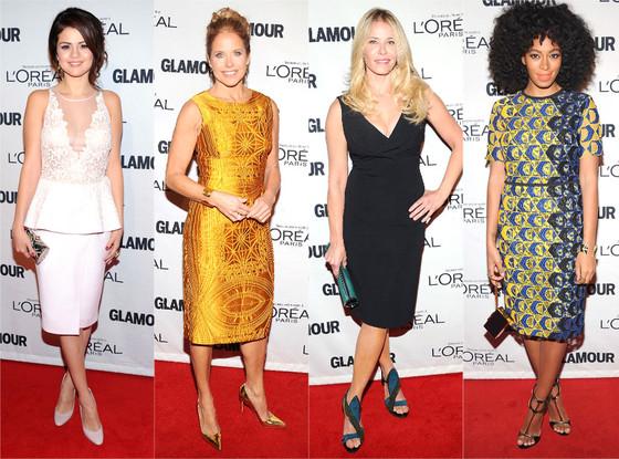 Selena Gomez, Katie Couric, Chelsea Handler, Solange Knowles