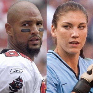 Jerramy Stevens, Hope Solo