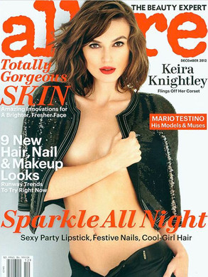 Keira Knightly, Allure Magazine Cover