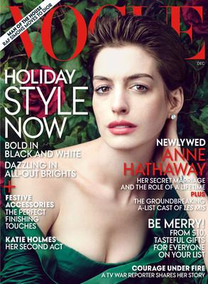 Anne Hathaway, Vogue Magazine cover