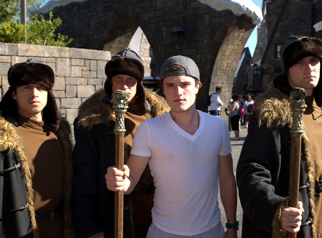 Josh Hutcherson, Universal Studios Orlando