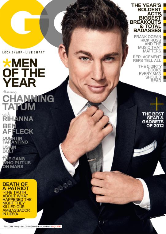 Channing Tatum, GQ Cover