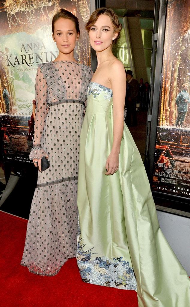 Alicia Vikander, Keira Knightley