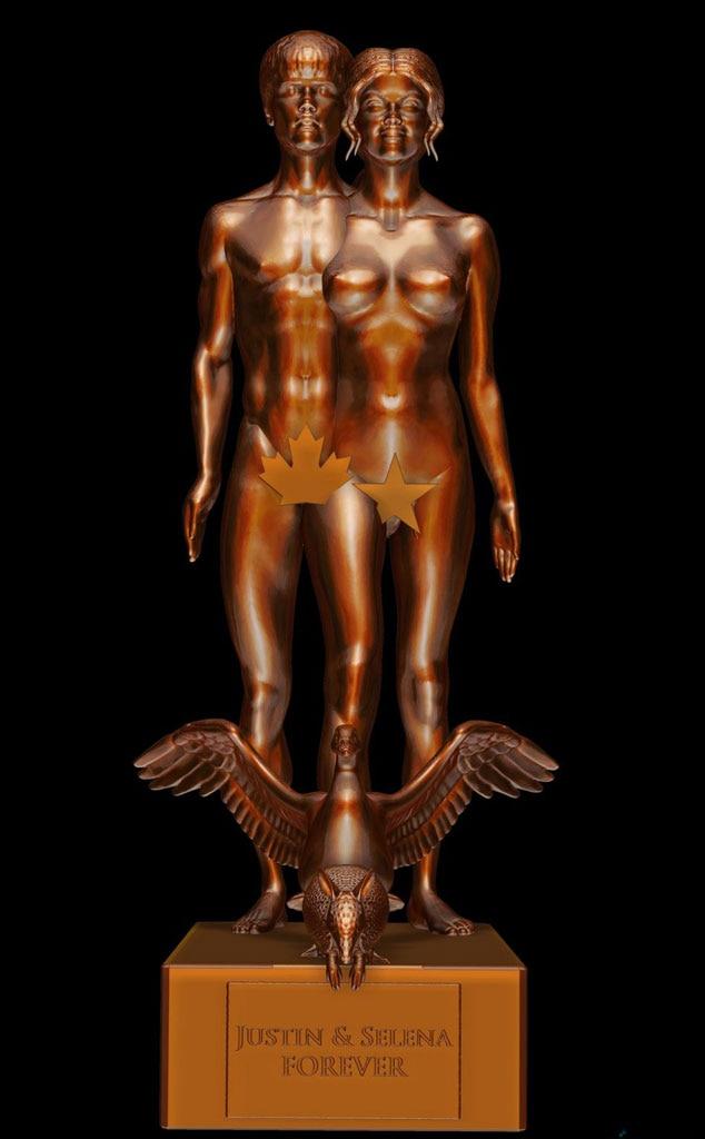 Selena Gomez, Justin Bieber, Statuette