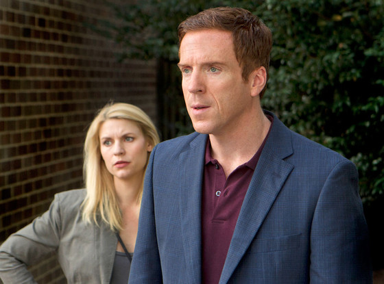 Homeland, Damian Lewis, Claire Danes