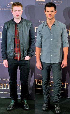 Robert Pattinson, Taylor Lautner