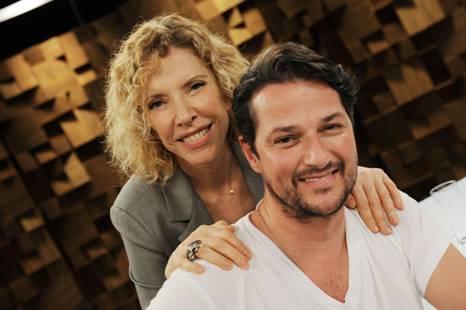 Marcelo Serrado, Marilia Gabriela