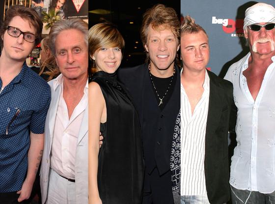 Cameron Douglas, Stephanie Rose Bon Jovi, Nick Hogan