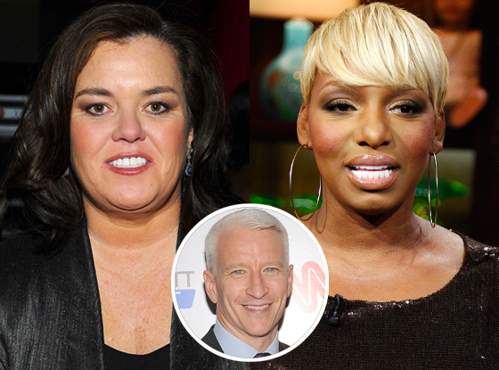 Rosie O'Donnell, NeNe Leakes, Anderson Cooper