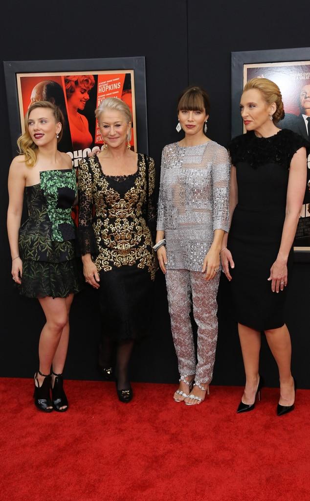 Scarlett Johansson, Helen Mirren, Jessica Biel, Toni Collette