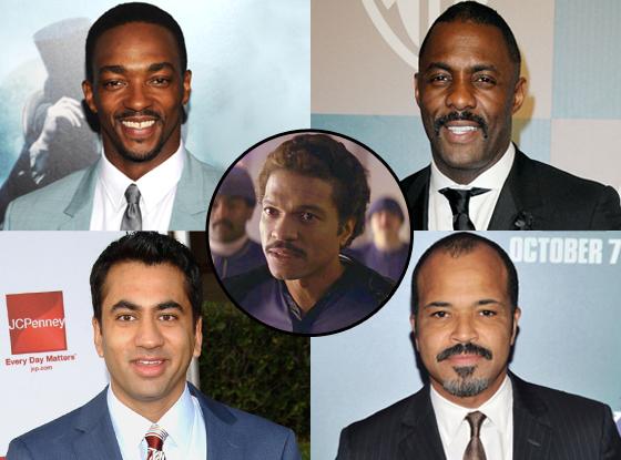 Lando Calrissian, Anthony Mackie, Jeffrey Wright, Idris Elba, Kal Penn