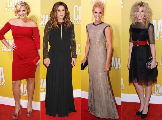 CMA's, Gwen Sebastian, Lisa Marie Presley, Kimberly Schlapman, Kimberly Perry