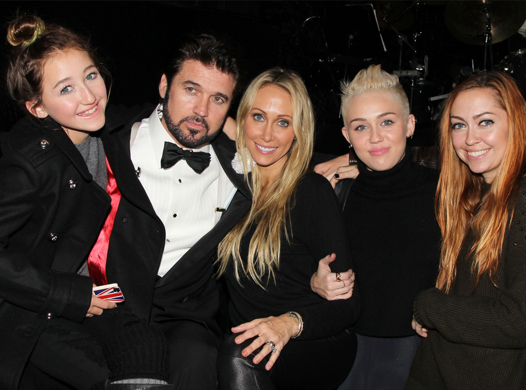 Noah Cyrus, Billy Ray Cyrus, Tish Cyrus, Miley Cyrus