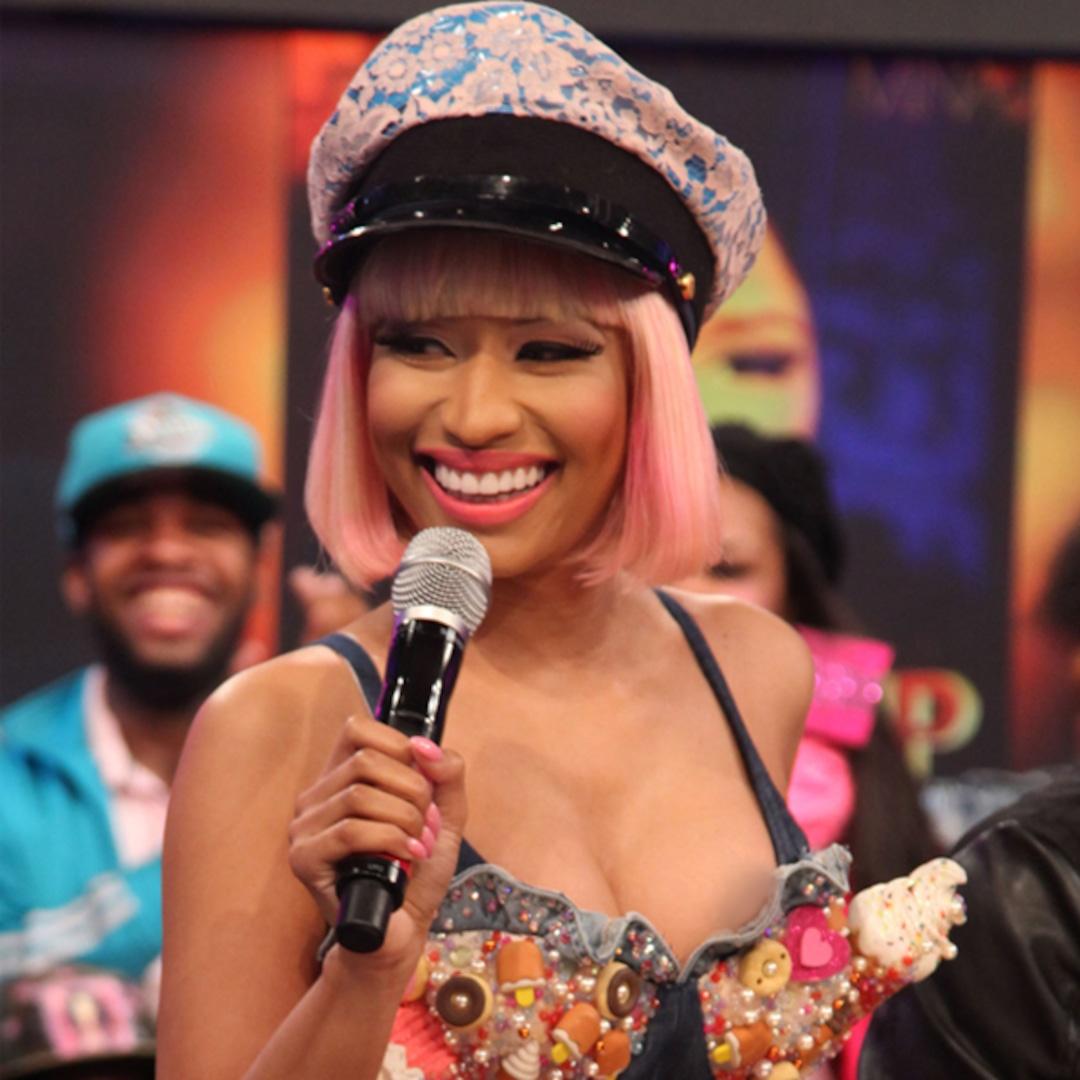 Nicki Minaj Has Nip Slip on Live TV - E! Online