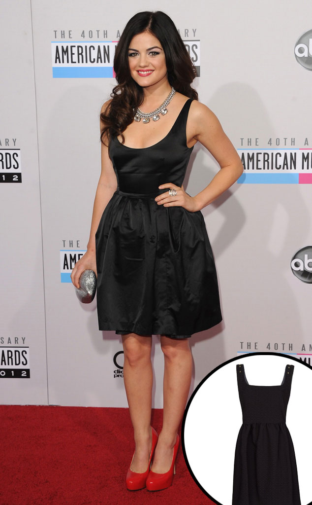 Lucy Hale, Party Dress