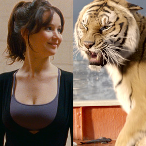 Jennifer Lawrence, Silver Lining Playbook, Life of Pi