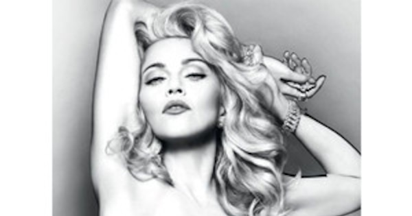 Madonna Goes Topless For New Truth Or Dare Fragrance Ad -8109
