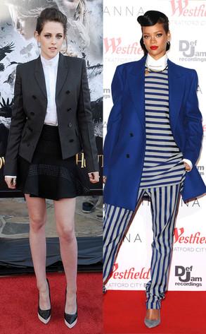 Kristen Stewart, Rihanna