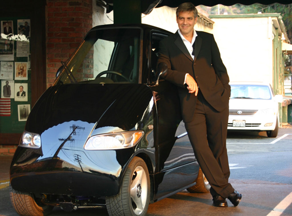 George Clooney's Car: $100,000