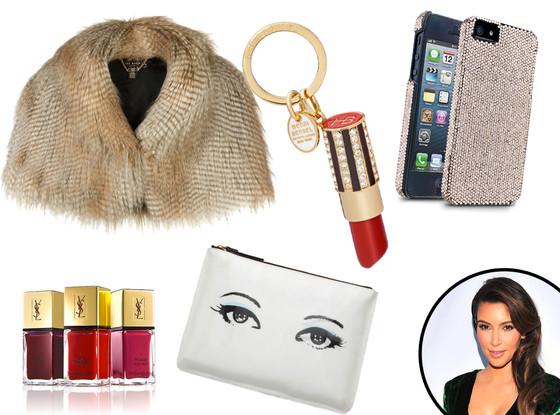Kim Kardashian, Glam Girl Gift Guide