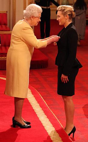 Queen Elizabeth, Kate Winslet