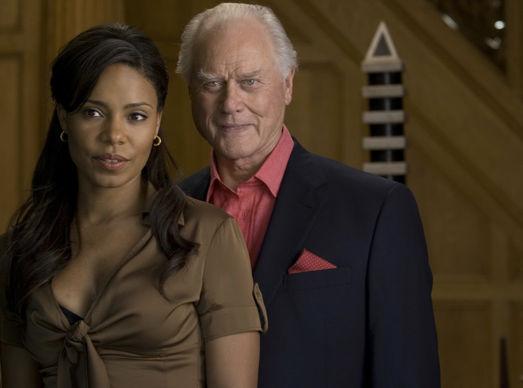 nip tuck with sanaa lathan from larry hagman a life in. Black Bedroom Furniture Sets. Home Design Ideas