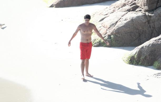 Reynaldo Gianecchini, praia