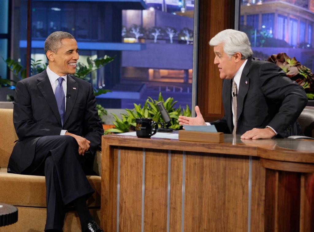 Barack Obama, Jay Leno, Tonight Show