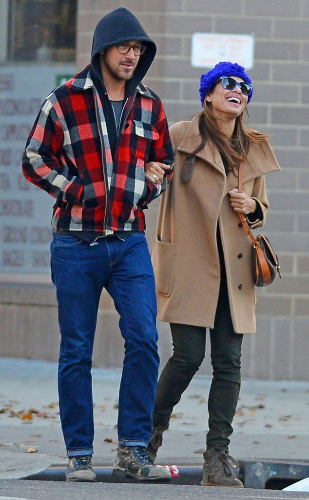 Morning Strolls from Ryan Gosling and Eva Mendes: Romance ...