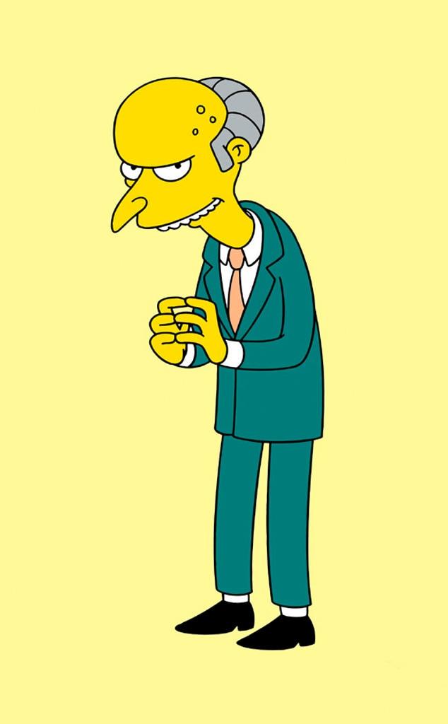 Harry Shearer, Mr. Burns, The Simpsons