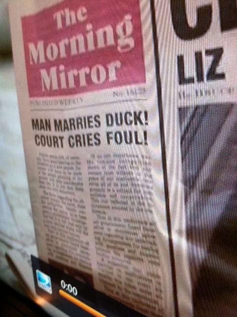 Liz & Dick Newspapers