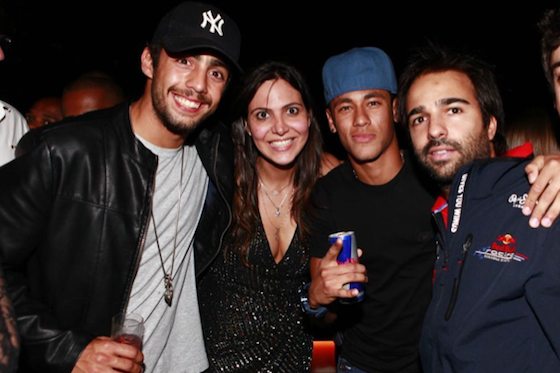 Neymar, Owen Wilson, Kimi Raikkonen, Festa RBR