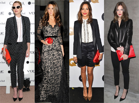 Emma Roberts, Kate Middleton, Rashida Jones, Mandy Moore