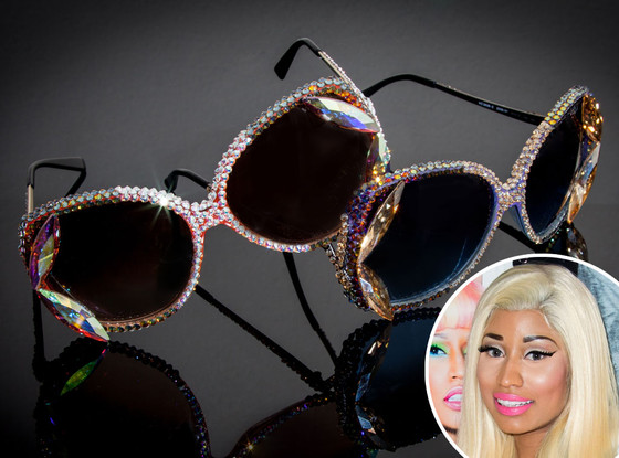 Nicki Minaj, Swarovski Sunglass Hut sunglasses