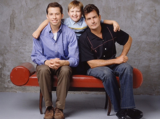 Charlie Sheen, Angus T. Jones, Jon Cryer, Two and a Half Men