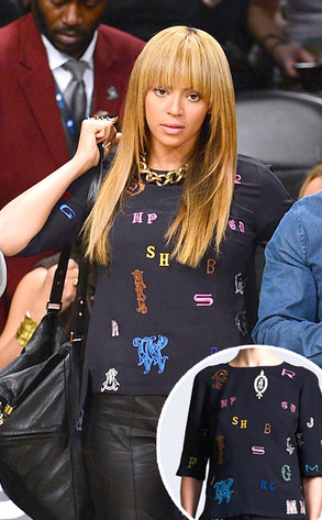 Beyonce Knowles, Stella McCartney sweater